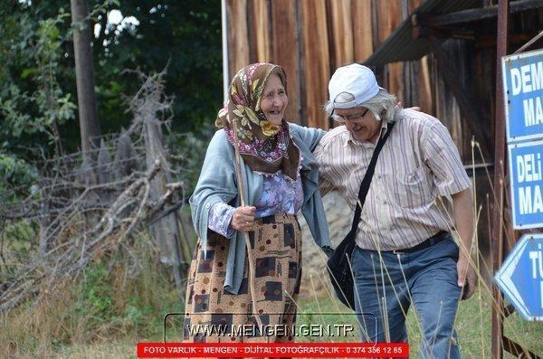 Yaşlılar Haftası Anısına Yazı ve Mengen'den Fotoğraflar